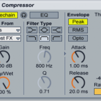 Synchronize a Sidechained Compressor to the Beat