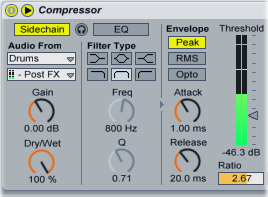 Syncing Sidechained Compressors