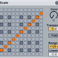 Using the Ableton Scale Plug-In