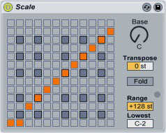 Ableton Scale Plugin