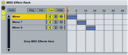 Ableton Chord Plugin