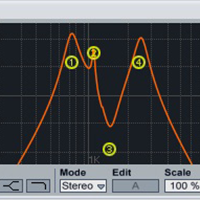 Ableton Formant Filter